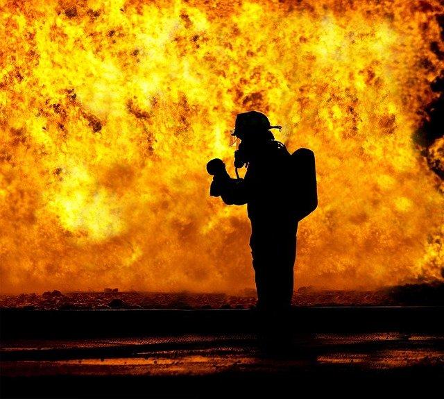 שריפה פרצה בבית בדימונה